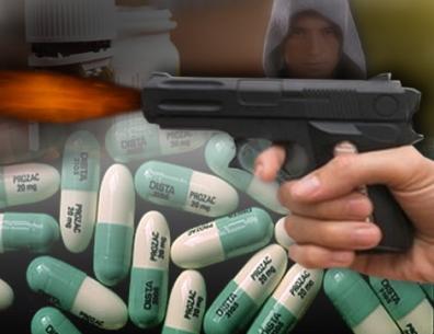 Antidepressant-Shooting